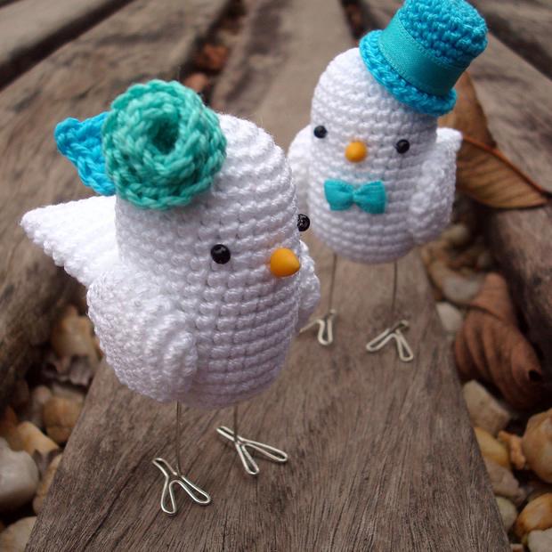 Amigurumi Crochet Animal Patterns : 12 Bodas em 12 Dias Dia 7 #12bodasem12dias ...