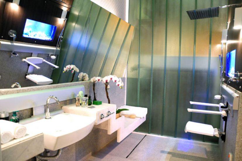 Adesivo De Espelho Para Banheiro ~ Banheiro para deficientes físicos #decoraç u00e3o #