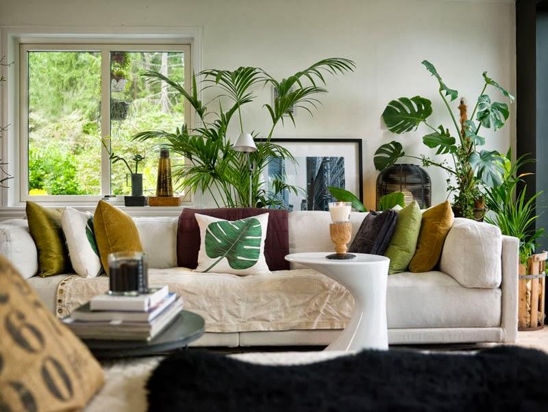 decoracao de sala verde:Especial Copa – 5 salas decoradas em tons de amarelo