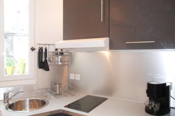 Cozinha simples, mas funcional