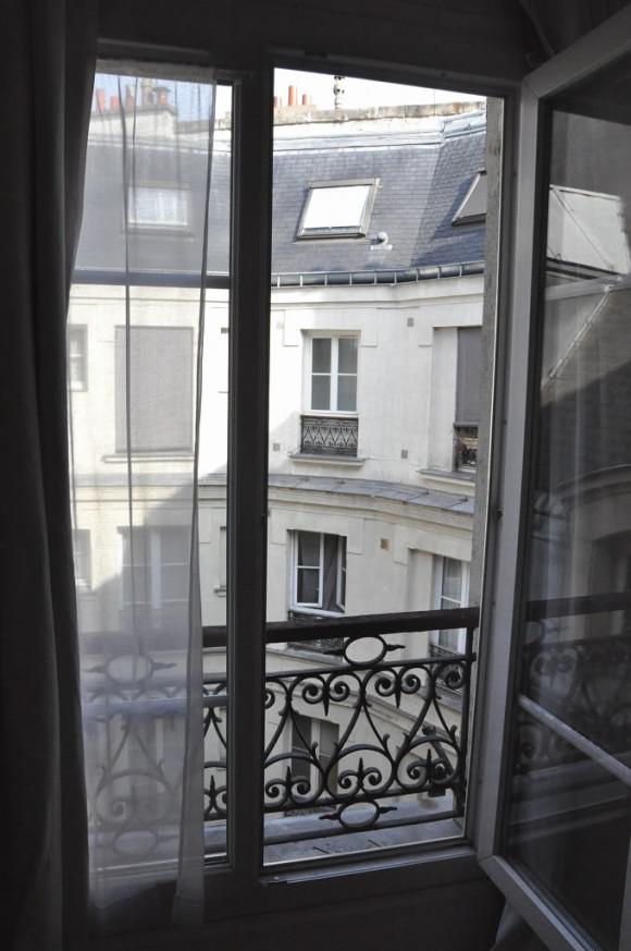 A vista da nossa janela