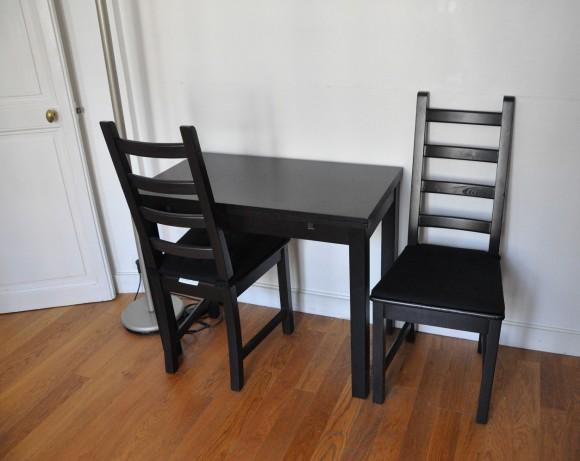 Nossa querida mesa para dois