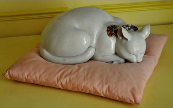 Queria levar essa escultura para casa!