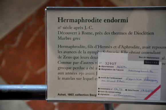 Minha decepção durante a visita: uma das esculturas que eu mais queria ver estava emprestada para uma exposição no Grand Palais